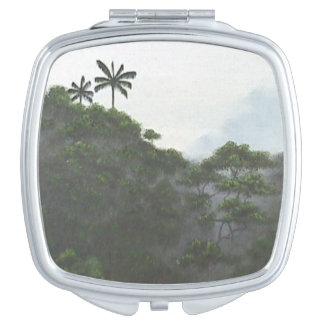 Indonesian Rainforest Vanity Mirrors
