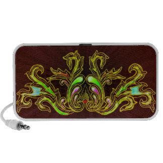 Indonesian style design mini speaker