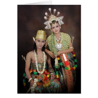 Indonesian Wedding Congratulations Card