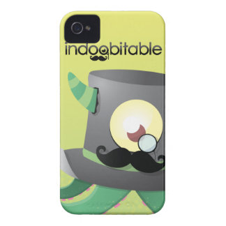 Indoobitable Monster Sir iPhone 4 Cases