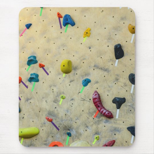 Indoor Climbing Wall - Sports - Holds Mouse Pad