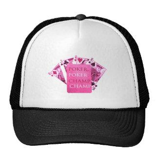 Indoor Games - Poker Champions Trucker Hat
