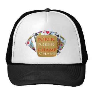 Indoor Games - Poker Champions Cap