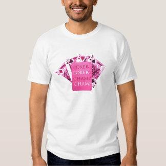 Indoor Games - Poker Champions T Shirt