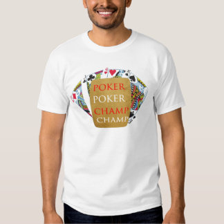 Indoor Games - Poker Champions Tshirts