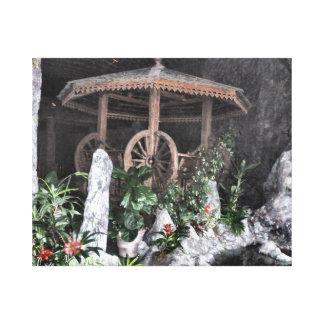 Indoor Garden Gallery Wrap Canvas