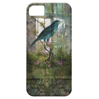 Indoor Garden with Bird iPhone 5 Case