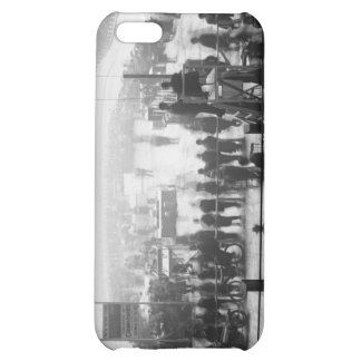 Indoor Motorcycle Race early 1900s iPhone 5C Cases