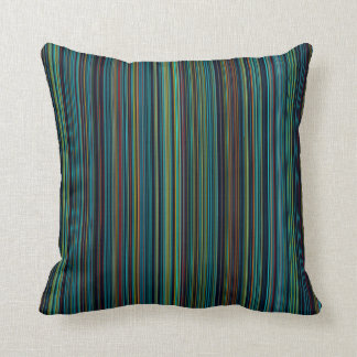 indoor or outdoor blue brown aqua stripe purple cushion