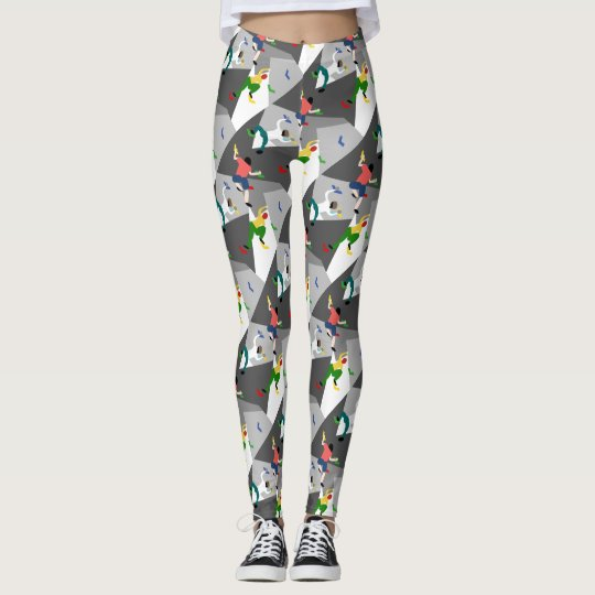 Indoor Rock Climbing Leggings
