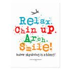Indoor Skydiving is a Blast! Postcard