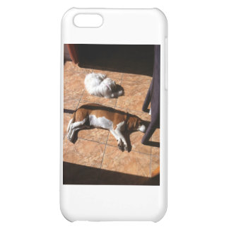 Indoor Tanning Doggy Style iPhone 5C Case