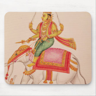 Indra, God of Storms, riding on an elephant Mouse Pad