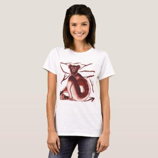 Indri Lemur Artwork Women's T-shirt