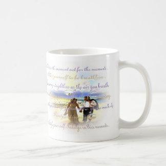 indulge basic white mug