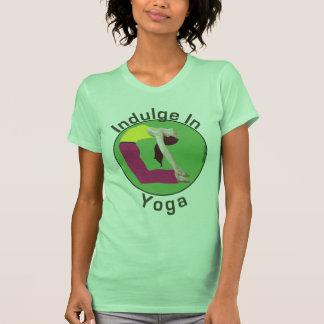 Indulge In Yoga T Shirt