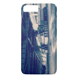 Industrial blue iPhone 7 plus case
