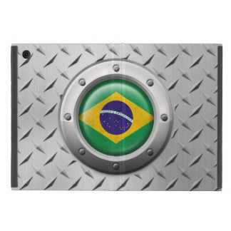 Industrial Brazilian Flag with Steel Graphic Cases For iPad Mini