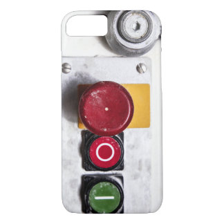 Industrial Buttons iPhone 7 Case Design