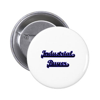 Industrial Buyer Classic Job Design 2 Inch Round Button