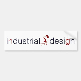 industrial design lamp graphic bumper sticker