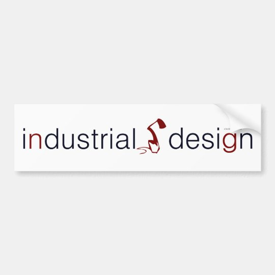 industrial design lamp graphic bumper sticker