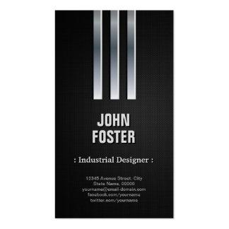 Industrial Designer - Steel Metal Look Pack Of Standard Business Cards