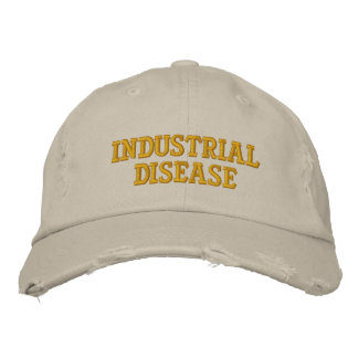 Industrial Disease Embroidered Baseball Cap