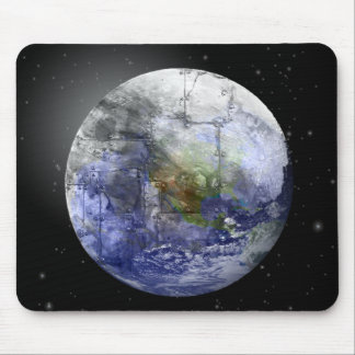 Industrial Earth Mouse Pad
