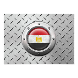 Industrial Egyptian Flag with Steel Graphic Invites