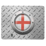 Industrial English Flag with Steel Graphic