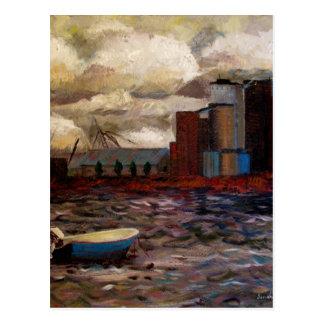 Industrial Fishin Postcard