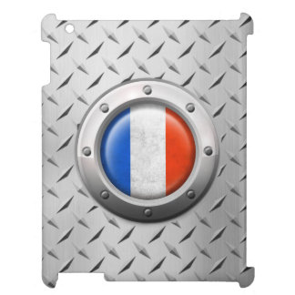 Industrial French Flag with Steel Graphic Case For The iPad