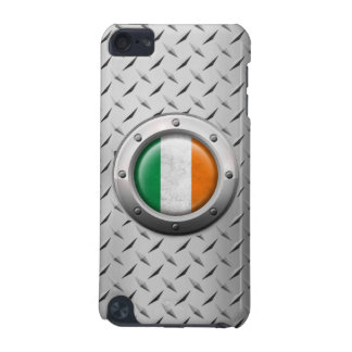 Industrial Irish Flag with Steel Graphic iPod Touch 5G Cases