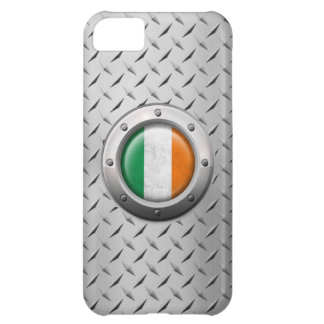 Industrial Irish Flag with Steel Graphic iPhone 5C Cover