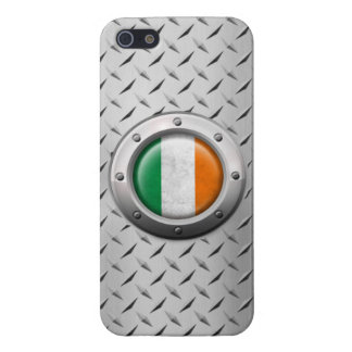 Industrial Irish Flag with Steel Graphic Case For iPhone 5/5S
