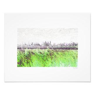 "Industrial Landscape 20""x16"" Photo"