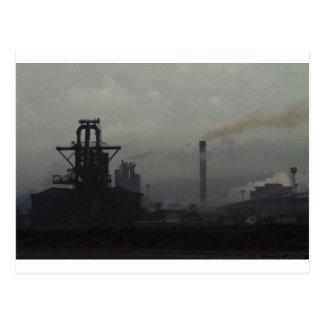 Industrial Landscape, Redcar Postcard