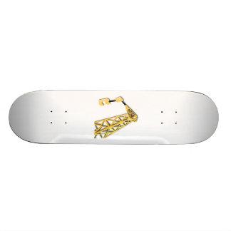Industrial Lifting Crane Skateboard Deck