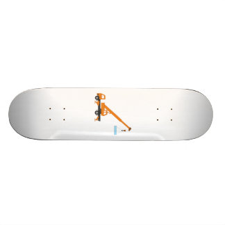 Industrial Lifting Crane Custom Skateboard