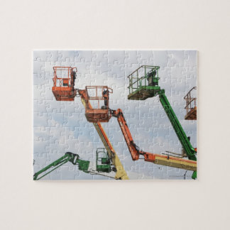 Industrial lifting platforms jigsaw puzzle
