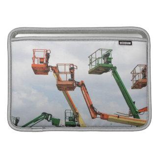 Industrial lifting platforms MacBook sleeve