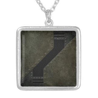 Industrial Mesh Pattern Custom Jewelry