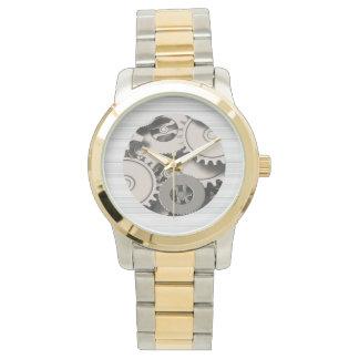 Industrial Metal Gears Wrist Watch