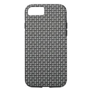 Industrial Metallic Weave Texture Print iPhone 7 Case