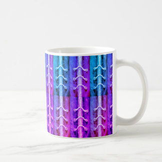 Industrial Minimalism Colors Abstract Design Miami Coffee Mug