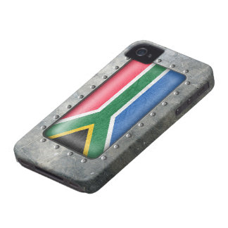Industrial South African Flag Case-Mate iPhone 4 Cases
