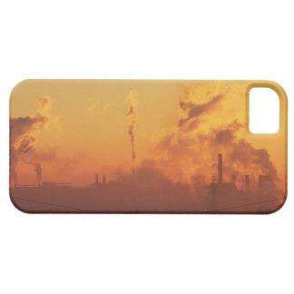 Industrial sunrise iPhone 5 cover