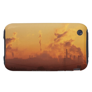 Industrial sunrise tough iPhone 3 case