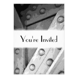 Industrial Theme Digital Art Invite